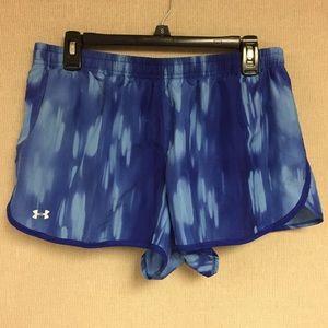 Blue UnderArmour Athletic Shorts
